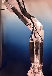 Una pierna robótica