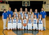 Lady Cougars 2014-2015 Basketball Team