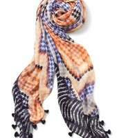 GLOBETROTTER SCARF - SUNSET