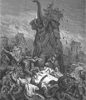 יהודה נלחם למען עצמאות מדינית-ולבסוף ההפסד הראשון שלו