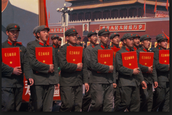 who were the red guards ?