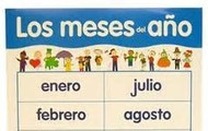 Los meses del año  (The months of the year)