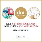 Earn Dot Dollars for yourself!