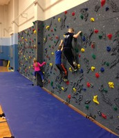 Thank you to our awesome PTO for orchestrating our fundraiser to buy our new rock wall.