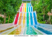 A super cool water slide!!!