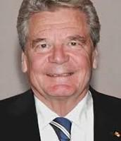Joachim Gauck the president of Germany