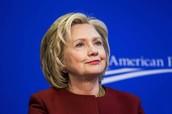 Democrat Presidential Candidate, Hillary Clinton