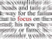 Where to focus now....