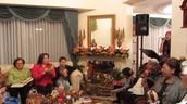 Christmas Carla singing