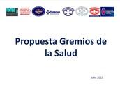 PROPUESTA DE LOS GREMIOS DE SALUD