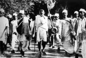 Ghandi's Salt March