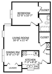 ALMOST 800 SQUARE FEET OF FINE LIVING!