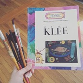 Learning about artist Paul Klee