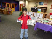3rd Place Reader in 5th Grade