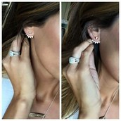 Pave Ear Jackets $49