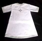 White Baptismal Garment
