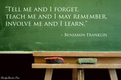 Mrs. Young's favorite Teaching Quote