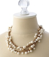 Gabrielle Pearl Necklace - £30