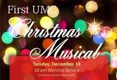 First UMC Christmas Musical