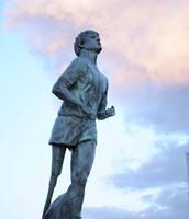 Terry Fox Monument.