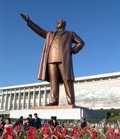 Statue of Kim Il Sung