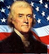 Thomas Jefferson is third president