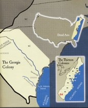 Why settle in the Georgia Colony?