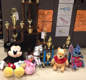 Look at the amazing spoils of competition!