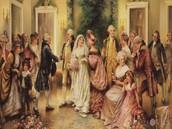 Typical Elizabethan Wedding