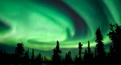 Actual cause of the aurora borealis