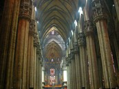 Inside of Cathedral of Milan