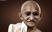 Gandhi's Deeds