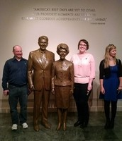 Regional Leadership Team and the Reagan's