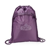 Cinch Sac - Plum Gingham Pop