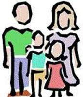 Four family members