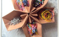 Organize with origami