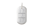 Engravable ID Tag with Birthday ($36)