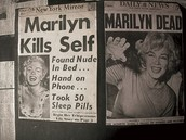 Marilyn Monroe in the news!