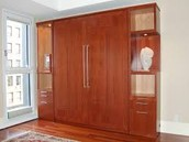The bed that is a cabinet!