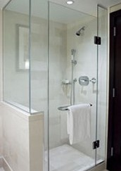 Introducing the Ideal shower, a simple yet elegantly designed showerstall that is Ideal for showering.