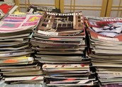 Old magazines and newspapers needed!
