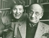 This is H. A. Rey with his wife, Margret Rey.