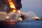 oil spills destroy
