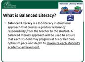 K-5 Literacy Approach