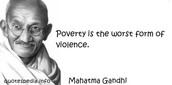A Famous Quote from Mahatma Gandhi