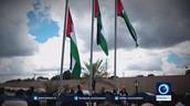 הרמת הדגלים הפלסטינאים בפתיחת השגרירות הפלסטינאית בברזיל