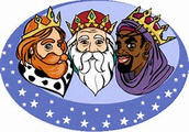 The three kings, or los Reyes Mayos, also bring gifts on January 6th.