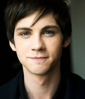 Logan Lerman from the movie Percy Jackson as Sam Wilson