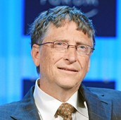 Bill Gates in the ruff