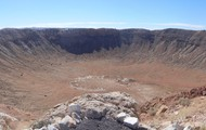 Meteor Crater in Salt River Valley